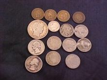 Lot of 15 Assorted Coins