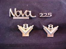 Lot of 4 Early Car Emblems/Badges