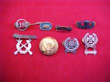 Lot of 8 Assorted Military Pins