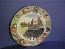 Royal Doulton Shakespeare Portait Plate