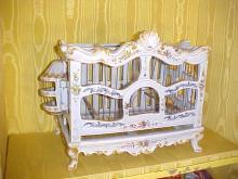 Marseille Faience Porcelain Birdcage