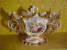 Old Paris Porcelain Center Bowl