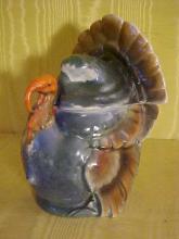 Porcelain Turkey Tobacco Jar Signed Germany