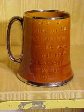 Bennington Type Golf Trophy Mug/Musicbox