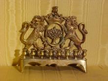 Israelian Brass Menorah