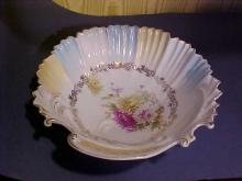 Unmarked RS Prussia Handpainted Bowl