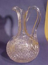 Cut Glass Cruet