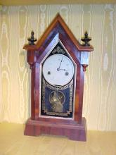 Rosewood  Steeple Shape Clock