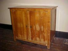 German Pear Wood Cabinet