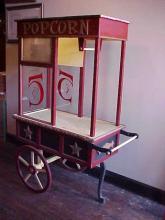 Vending Display Cart - Popcorn Theme