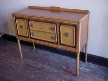 Maple and Walnut Sideboard