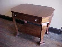 Empire Mahogany 1 Drawer Library Table