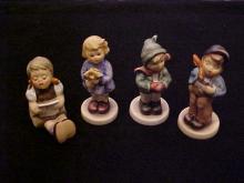 Lot of 4 Goebel Hummel Figurines