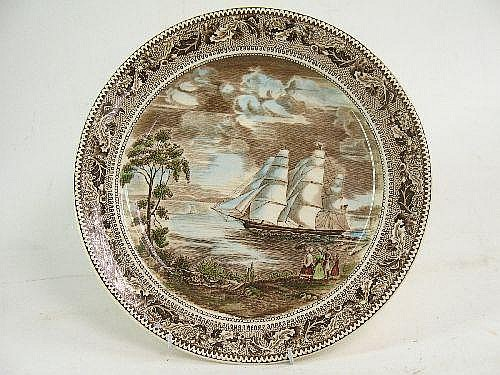 JOHNSON BROS COMMEMORATIVE WALL PLATE