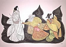 Al Hirschfeld, Kabuki Theater