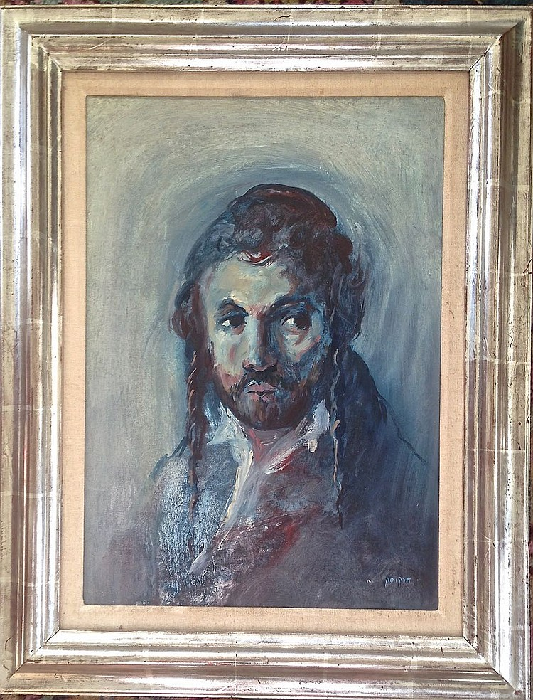 Lawernce Marcuson (Scotland, 1993), Judaica Oil Painting