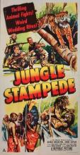 Jungle Stampede (Republic, 1950) Three Sheet Cinema Movie Poster:  41