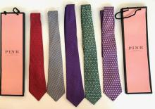 Gentleman's Thomas Pink Silk Ties, London, England (5)