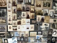 Lot of 150 Cabinet Cards
