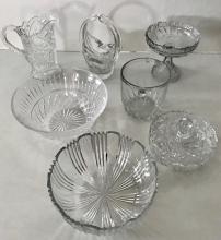 Collection of Crystal Including Waterford Bowl (7)