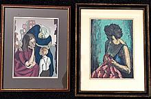 "Harry Shoulberg (American, 1903-1995) ""Despair"" & ""Mending"""