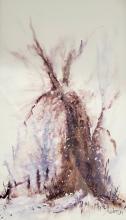 """Robyn Kittelty Redman """"Tree"""" Watercolour"""