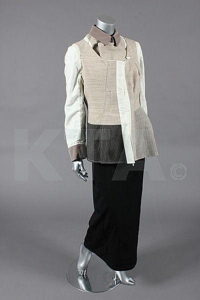 A Comme des Garcons panelled jacket, 1998,