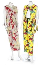 A group of summery Marni clothing, modern, approx 9 ensembles including two