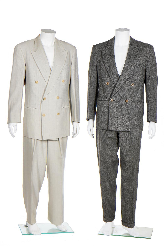 Four Armani men's suits, circa 1990,