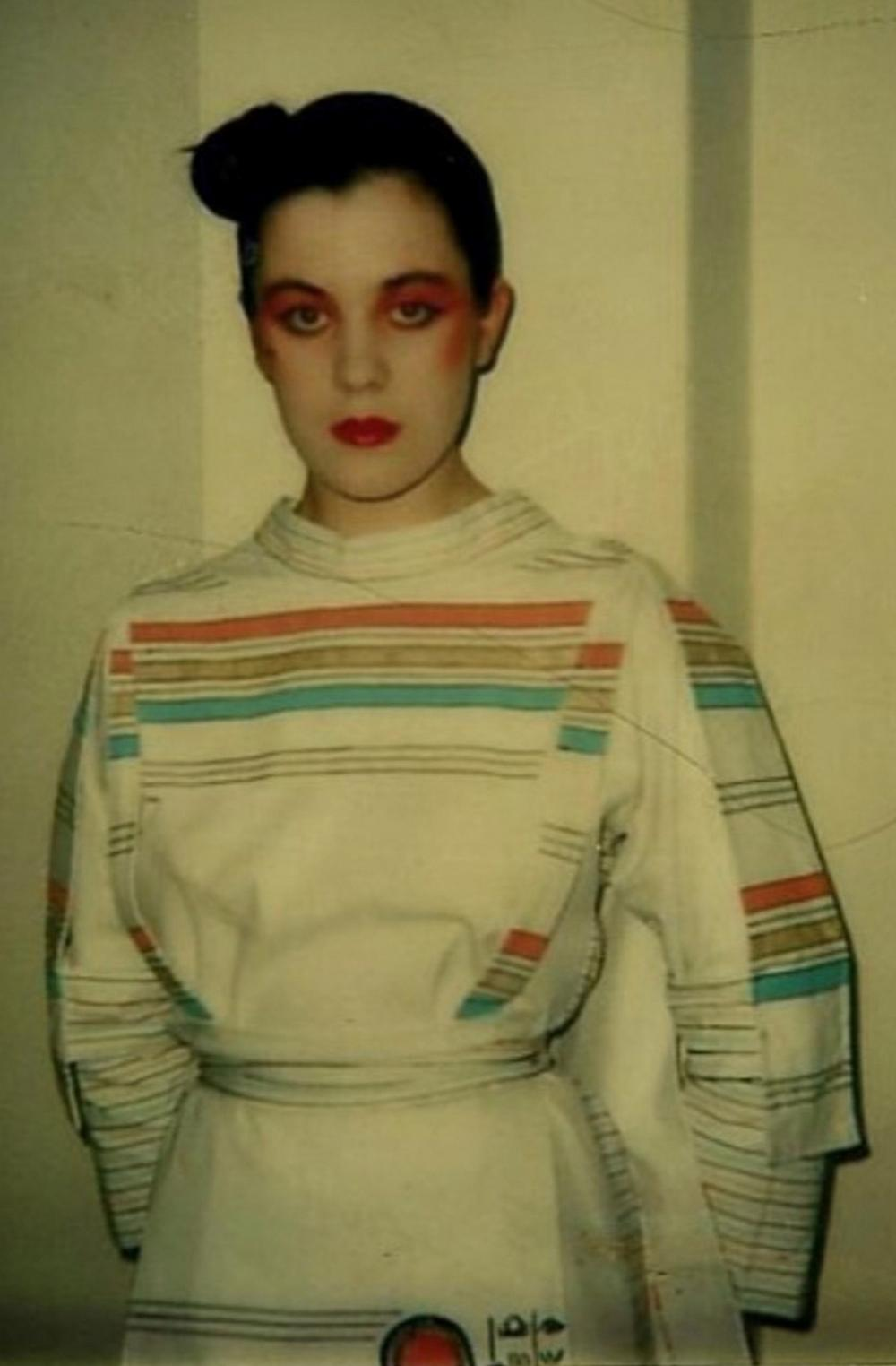 A group of clothing designed by emerging St Martins students in the early 1980s,
