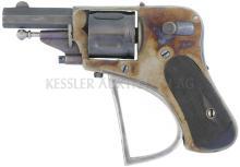 Taschenrevolver, belgisch, Kal. 6.35mm
