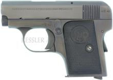 Taschenpistole, Delu, belgisch, Kal. 6.35mm