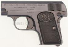 Taschenpistole, FN 1906, 3. Ausführung, Kal. 6.35mm