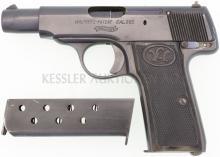 Pistole, Walther Mod. 4, erste Ausführung, Kal. 7.65mm