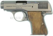 Pistole, Walther Mod. 3, 2. Ausführung, Kal. 7.65mm