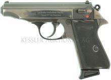 Pistole, Walther PP, Ulm, Kal. 9mmK