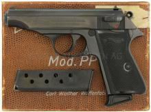 Pistole, Walther PP, Ulm, Kal. 7.65mmK