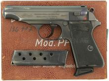 Pistole, Walther PP, ZM, Kal. 7.65mm