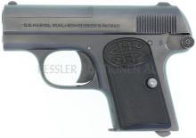 Taschenpistole, Haenel Suhl, Mod. Schmeisser 1, Kal. 6.35mm
