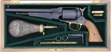 Perkussionsrevolver, Navy Arms, Replica Remington 1858, Kal. .44