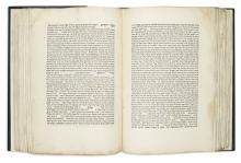 Important Hebrew Books & Manuscripts. * With the Yosef Goldman Collection of American-Judaica