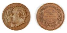 BRONZE MOSES MONTEFIORE MEDAL.