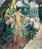 Leo Putz(1869 Meran - 1940 Meran). Ein grauer Tag., Leo Putz, Click for value