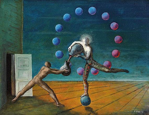 Edgar Ende(1901 Altona - 1965 München). Der Tänzer