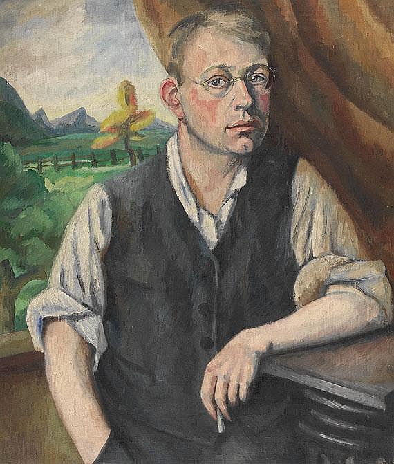 Otto Nückel(1888 Köln - 1956 Köln). Jugendliches
