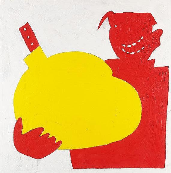 Walter Dahn(1954 Krefeld- lebt und arbeitet in