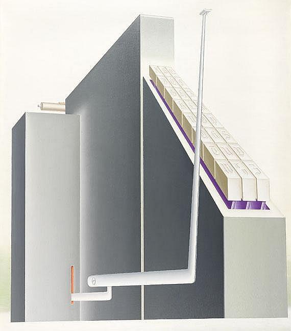 Konrad Klapheck(1935 Düsseldorf- lebt und arbeitet