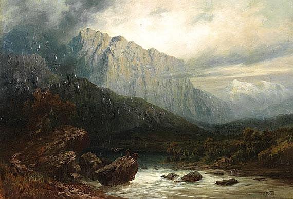 Waldemar Knoll (1829 Berlin - 1909 Coburg).