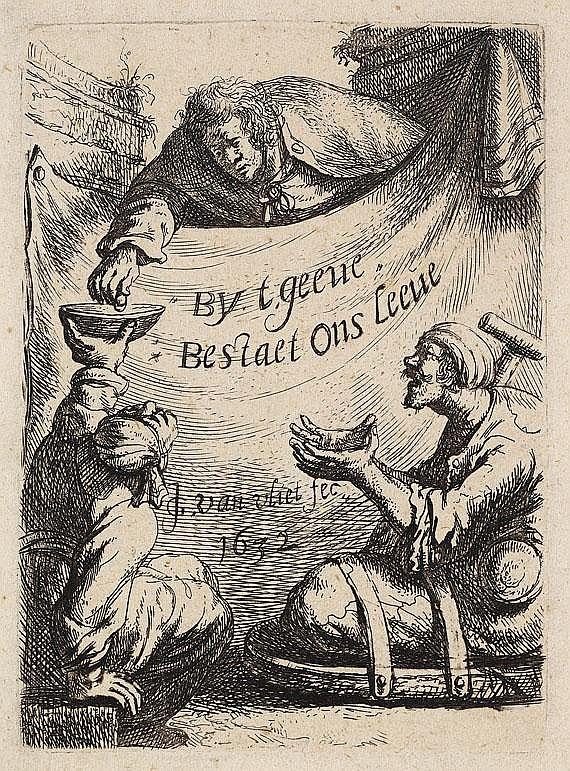 Johannes van Vliet ( um 1610 Delft oder Leiden-