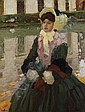 Leo Putz (1869 Meran - 1940 Meran). Porträt, Leo Putz, Click for value